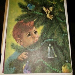 Miles Kimball Holiday Catalog Cover Print, Fall 68